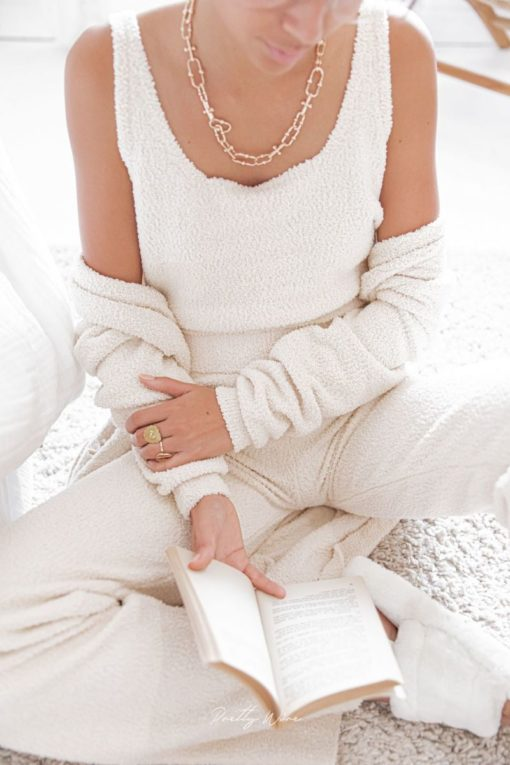 Comfy ensemble homewear cocooning PRETTY WIRE